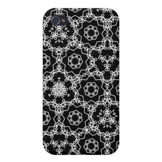 Étui iPhone 4/4S Motif noir et blanc