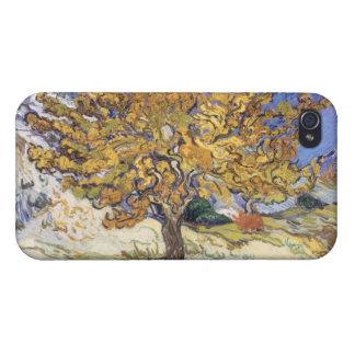 Étui iPhone 4/4S Mûrier de Vincent van Gogh |, 1889