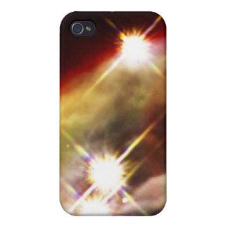 Étui iPhone 4/4S Nuit étoilée de nébuleuse de cône