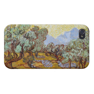 Étui iPhone 4/4S Oliviers de Vincent van Gogh |, 1889