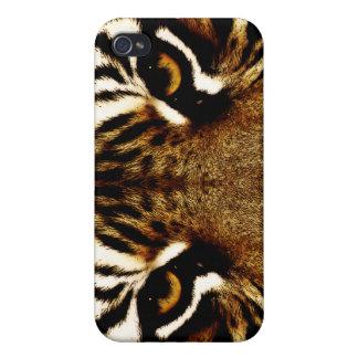 Étui iPhone 4/4S Yeux d'un tigre
