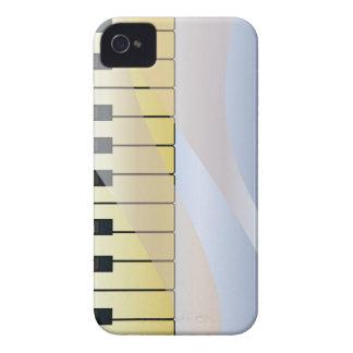 Étui iPhone 4 Arrière - plan abstrait de musique