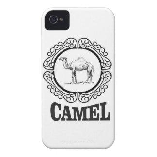 Étui iPhone 4 art de logo de chameau