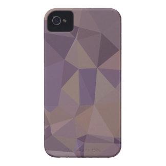 Étui iPhone 4 Bas arrière - plan de polygone d'abrégé sur moyen
