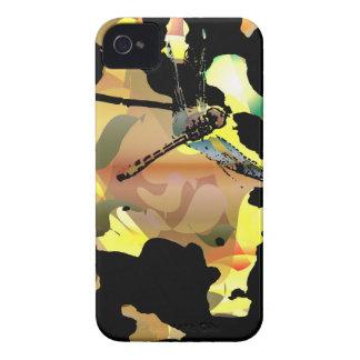 Étui iPhone 4 Beau cas de téléphone de libellule