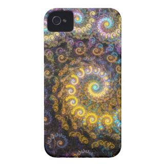 Étui iPhone 4 Beauté de fractale de Nautilus