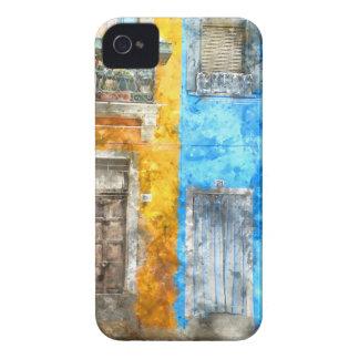 Étui iPhone 4 Burano Italie près de Venise Italie
