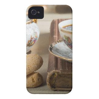 Étui iPhone 4 Café express de matin et savoiardi de biscuits