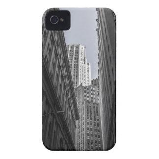 Étui iPhone 4 Centre Metropole de New York City de gratte-ciel