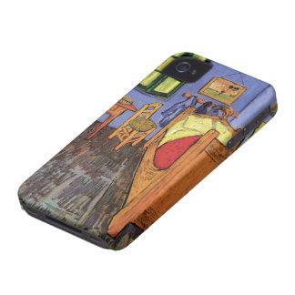 Étui iPhone 4 Chambre à coucher de Van Gogh Vincent dans Arles,