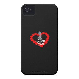 Étui iPhone 4 Conception de coeur de bougie pour l'état de New