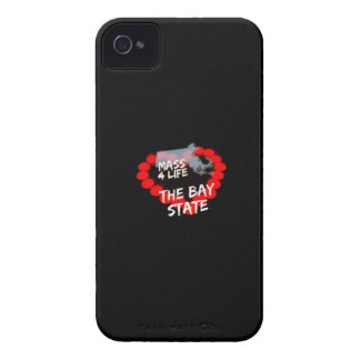 Étui iPhone 4 Conception de coeur de bougie pour l'état du