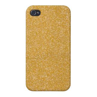 Étui iPhone 4 Coque iphone de parties scintillantes d'or