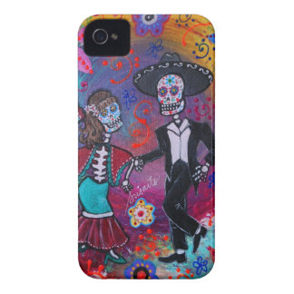 Étui iPhone 4 Couples de danse de mariachi de Bailar de Mexicain