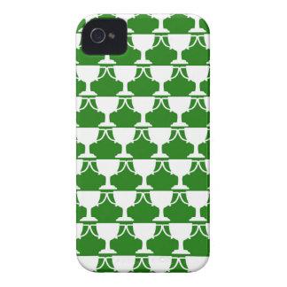 Étui iPhone 4 Dentelle victorienne verte