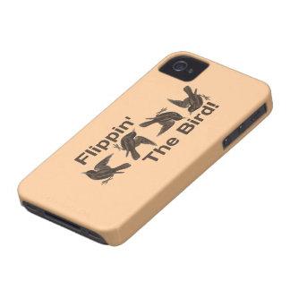 Étui iPhone 4 Flippin l'oiseau
