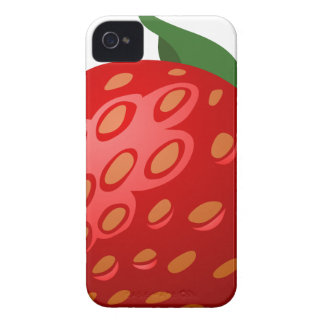 Étui iPhone 4 Fraise