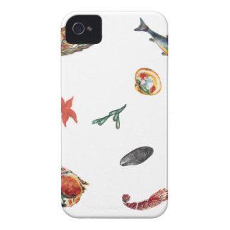 Étui iPhone 4 fruits de mer