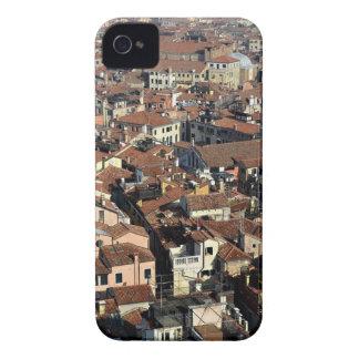 Étui iPhone 4 Horizon de ville de Venise
