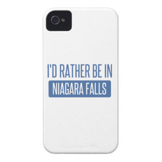 Étui iPhone 4 Je serais plutôt dans les chutes du Niagara