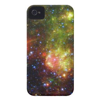 Étui iPhone 4 La mort poussiéreuse de la NASA massive d'étoile