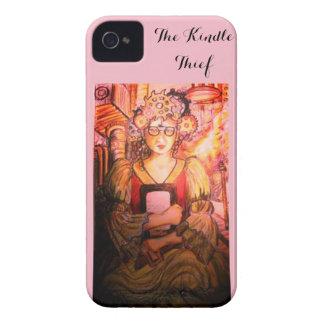 Étui iPhone 4 Le rose allument le voleur