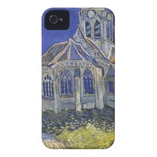 Étui iPhone 4 L'église dans Auvers par Vincent van Gogh