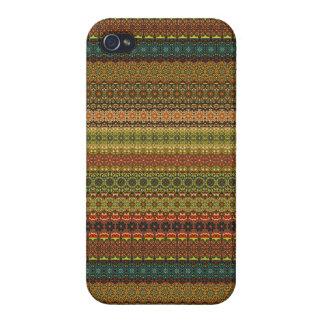 Étui iPhone 4 Motif aztèque tribal vintage