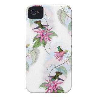 Étui iPhone 4 Motif de colibris