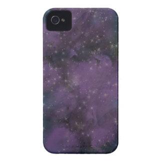 Étui iPhone 4 Nébuleuse pourpre de galaxie