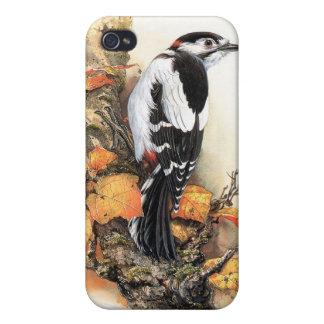 Étui iPhone 4 Oiseau d'automne