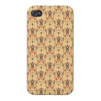 Étui iPhone 4 Ornement aztèque tribal ethnique vintage