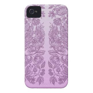Étui iPhone 4 Ornement rose poussiéreux