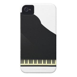 Étui iPhone 4 piano noir