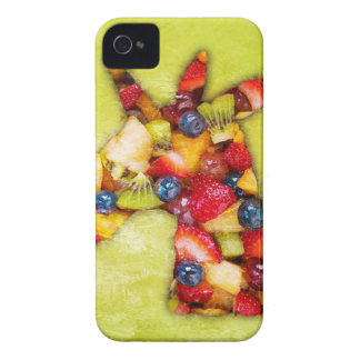 Étui iPhone 4 Salade de fruits de licorne