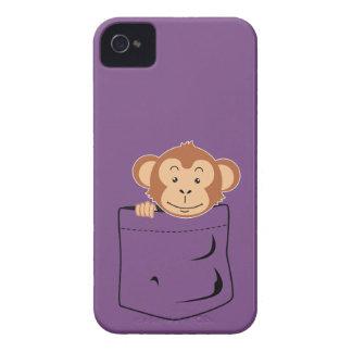 Étui iPhone 4 Singe dans la poche