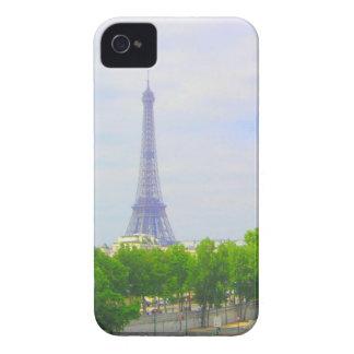 Étui iPhone 4 Tour Eiffel et la Seine, Paris France