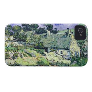 Étui iPhone 4 Vincent van Gogh | a couvert des cottages de