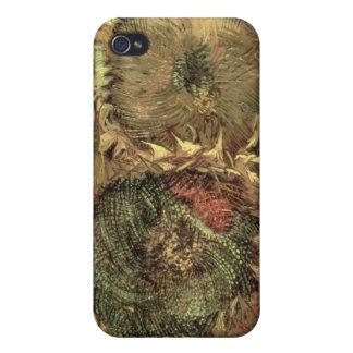 Étui iPhone 4 Vincent van Gogh | deux tournesols coupés, 1887