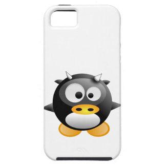 Étui iPhone 5 Bébé Tux vache