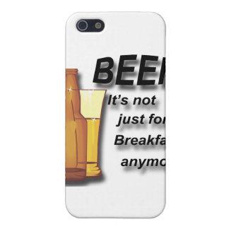 Étui iPhone 5 Bière il n'est plus simplement pour le noir de