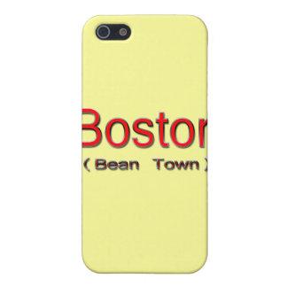 Étui iPhone 5 Boston (ville d'haricot) 2