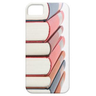 Étui iPhone 5 Caisse empilée de téléphone de livres