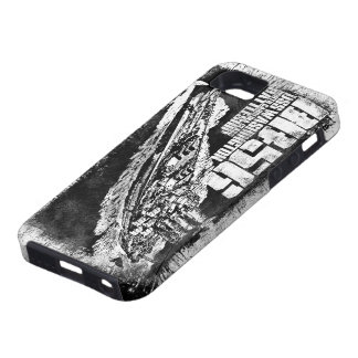 Étui iPhone 5 Cas de l'iPhone SE/5/5s de Washington de cuirassé