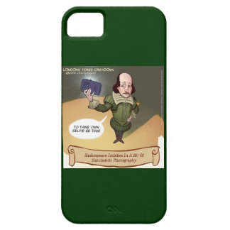 Étui iPhone 5 Cas drôle de l'iPhone 5/5S de Shakespeare Selfie