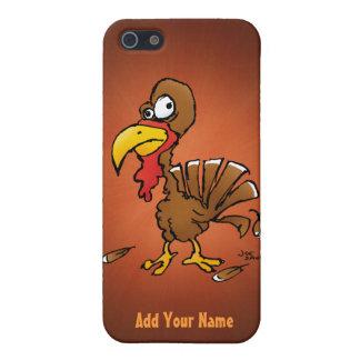 Étui iPhone 5 Cas drôle de l'iPhone 5 de Derp Turquie de bande