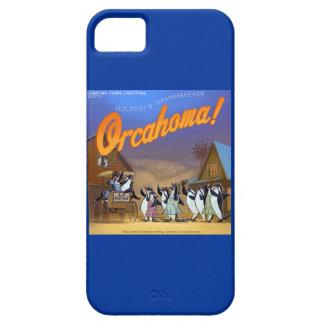 Étui iPhone 5 Cas drôle du théâtre musical iPhone5 de baleine d'