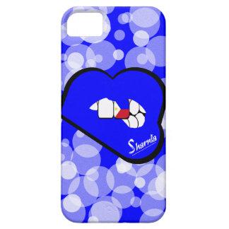 Étui iPhone 5 Cas L bleu de téléphone portable de Philippines