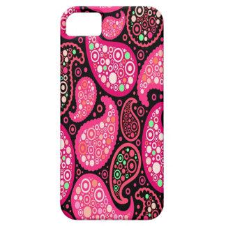 Étui iPhone 5 Cas unique Girly d'Iphone 6 de motif de Paisley
