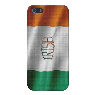 Étui iPhone 5 Coque iphone irlandais de drapeau